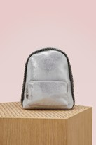 Stella McCartney Falabella shiny mini backpack