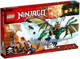 Lego Ninjago Green NRG Dragon 70593