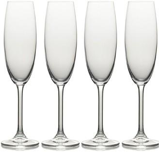 Mikasa Julie Flute Glasses Set of 4