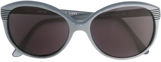 Pierre Cardin Pre Owned Round Frame Sunglasses