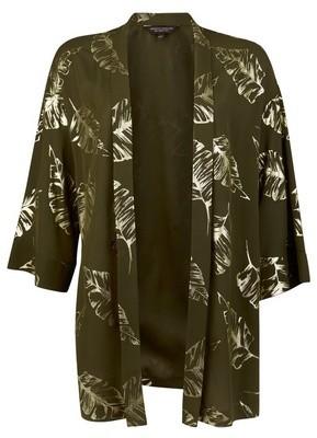 Dorothy Perkins Womens Khaki Foil Cover Up, Khaki