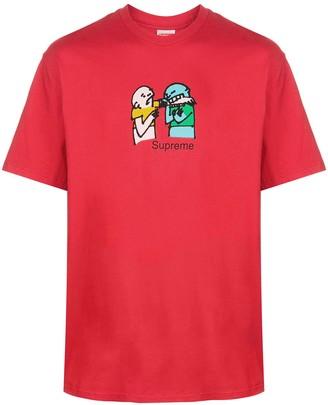 Supreme bite print T-shirt