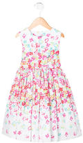 Oscar de la Renta Girls' Floral Print Sleeveless Dress w/ Tags