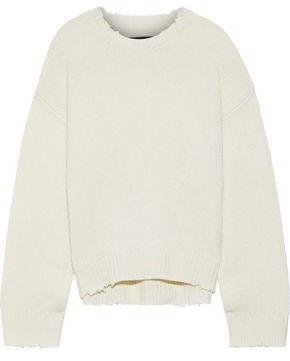 RtA Emma Distressed Cashmere Sweater