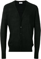 Ballantyne v-neck cardigan - men - Silk/Linen/Flax - 50