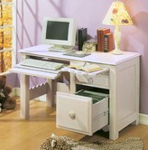 The Well Appointed House Scallop Desk with Optional Hutch-Available in Two Different Finishes