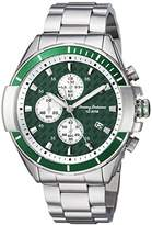 Tommy Bahama Men's Quartz Stainless Steel Casual Watch, Color:Silver-Toned (Model: TB00011-02)