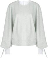 Victoria Victoria Beckham tie cuff sweater