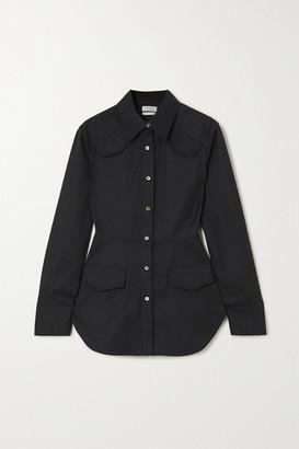 Deveaux Sierra Twill Shirt - Navy