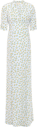 By Ti Mo Floral-print Crepe Maxi Dress