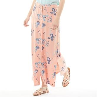Animal Womens Daydreamers Maxi Skirt Sunset Pink