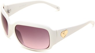 Rocawear Women's R793 WH Rectangle Sunglasses