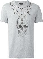 Alexander McQueen skull print T-shirt - men - Cotton - XL