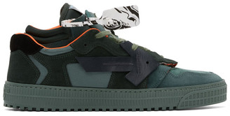 Off-White Green Off Court Sneakers