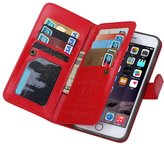 jasmine214 Leather Flip Case Folio Wallet with Card Slots for/6S Plus 7 Plus