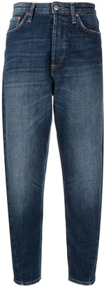 DEPARTMENT 5 High-Waisted Cropped Jeans