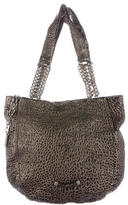 Jimmy Choo Distressed Leather Tote