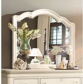 Paula Deen Home Decorative Landscape Mirror in Linen Finish