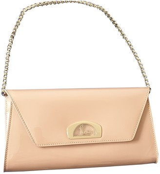Christian Louboutin Riviera Beige Patent leather Clutch bags
