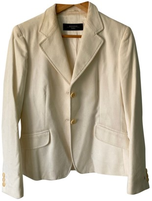 Ted Lapidus White Silk Jacket for Women
