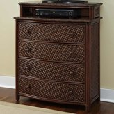 Bay Isle Home Naugatuck 4 Drawer Media Chest
