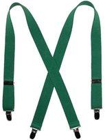 CTM Kids Elastic Clip-End 1 Inch Solid Suspenders