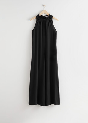 And other stories Sleeveless Flared Jumpsuit