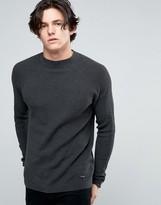 Threadbare Turtleneck Knit Sweater