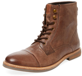 Ben Sherman Leon Distressed Mid-Top Boot
