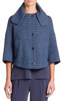 Akris Punto Basket Weave Jacket