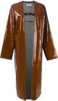 Marios oversized coat - women - Cotton/Polyurethane - M
