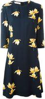 Marni Dawntreader print midi dress - women - Viscose/Silk - 42