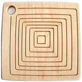 Maple Square Reversible Trivet/Cutting/Serving Board