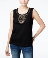 JM Collection Beaded Tank Top, Only at Macy's
