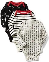 Gap Lovestruck long sleeve bodysuit (3-pack)