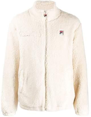 Fila faux fur bomber jacket