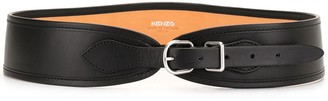 Kenzo Curved Leather Belt