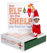The Elf on the Shelf® Una Tradicion Navidena Book Set with Boy Elf, Spanish Version