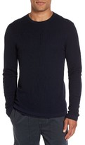 Vince Men's Double Layer Wool Sweater