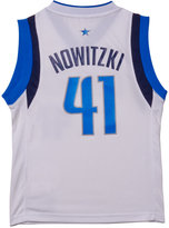 adidas Boys' Dirk Nowitzki Dallas Mavericks Revolution 30 Jersey