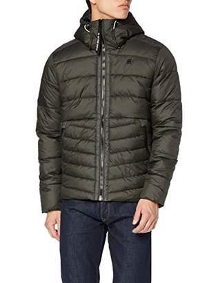 G Star Men's Motac Quilted Hooded Jacket,X