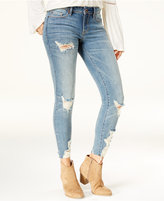 American Rag Juniors' Ripped Skinny Jeans, Created for Macy's