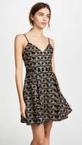 Alice + Olivia Marilla Embroidered Dress