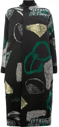 Toogood Abstract Print Coat