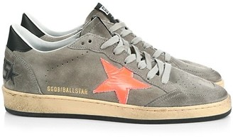 Golden Goose Men's Ball Star Leather & Suede Sneakers