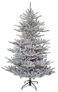 Kurt Adler 7-Foot Pre-Lit Flocked Pine Tree