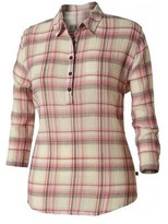 Royal Robbins Women's Oasis Plaid Long Sleeve Pullover