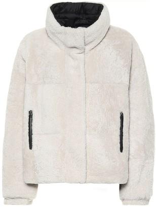 Yves Salomon Army reversible shearling jacket