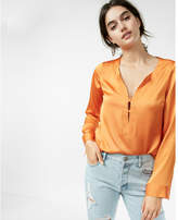Express cross front blouse