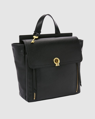 Fossil Women's Backpacks - Amelia Black Backpack - Size One Size at The Iconic